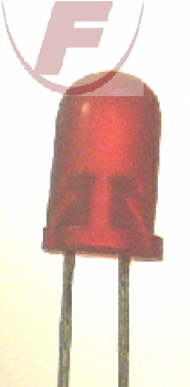 DUO-LED, rot/rot, 20mA, 3 mm , 2 PIN