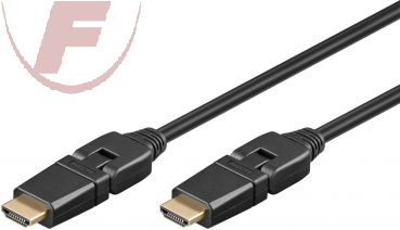 High Speed HDMI-Kabel mit Ethernet 1m 360° drehbar