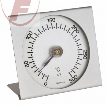 Analoges Backofenthermometer aus Metall