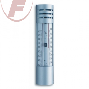 Analoges Maxima-Minima-Thermometer aus Aluminium