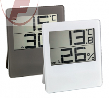 Funk-Thermo-Hygrometer 'Chilly', weiss