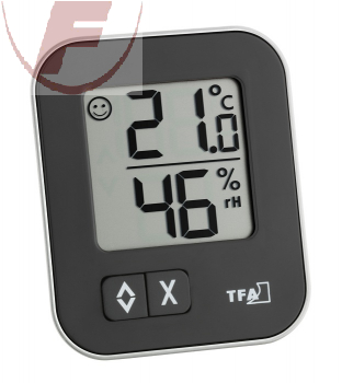 'Moxx' Digitales Thermo-Hygrometer, weiss