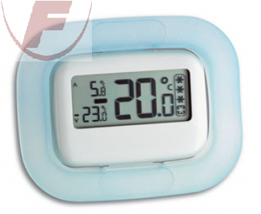 TFA Digitales Kühl-Gefrierschrank-Thermometer