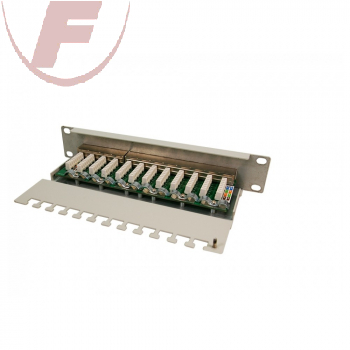 "10"" CAT 6 Patch Panel 12 Port - Logilink"