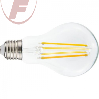 E27 LED-AGL 11Watt, 1475lm, 2700K, 360°, klar, Filament