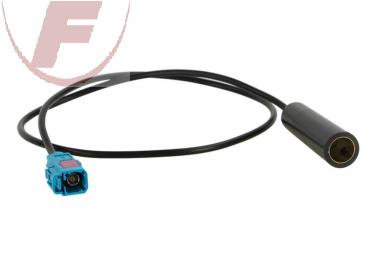 Antennenadapter Audi / BMW / VW / DIN (F) to Fakra (F) ROKA