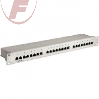"19"" CAT 5e Ethernet Patch Panel 24 Port STP Geschirmt"