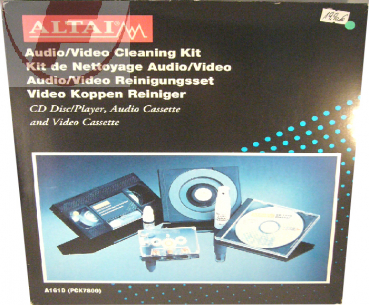 Audio / Video Cleaning Kit